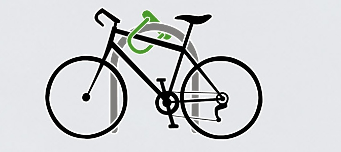 Como trancar sua bicicleta de forma segura no paraciclo