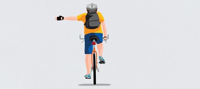 Sinalização do ciclista