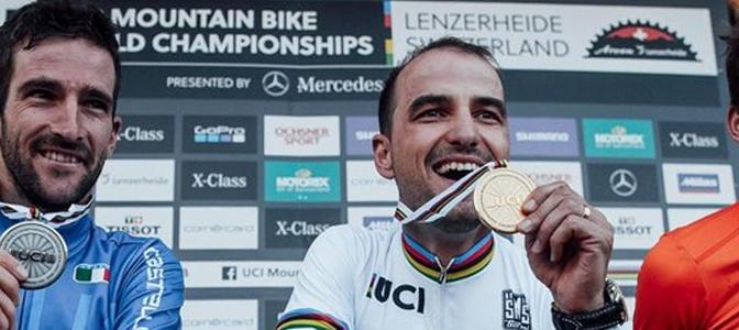 Campeonato Mundial MTB XCO: Nino Schurter se consagra e Henrique Avancini faz história novamente
