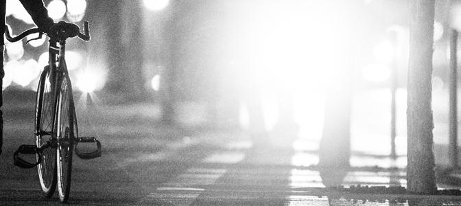 Dicas de sinalização ao pedalar a noite