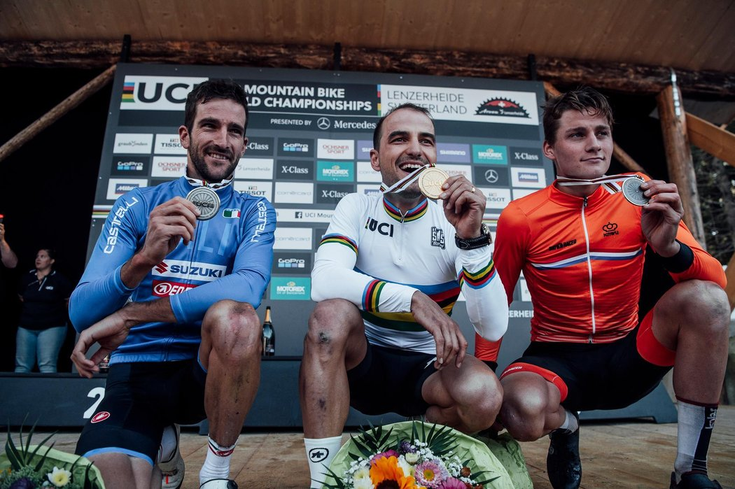 elite-men-podium-2018-uci-xco-world-championships© BARTEK WOLIŃSKI
