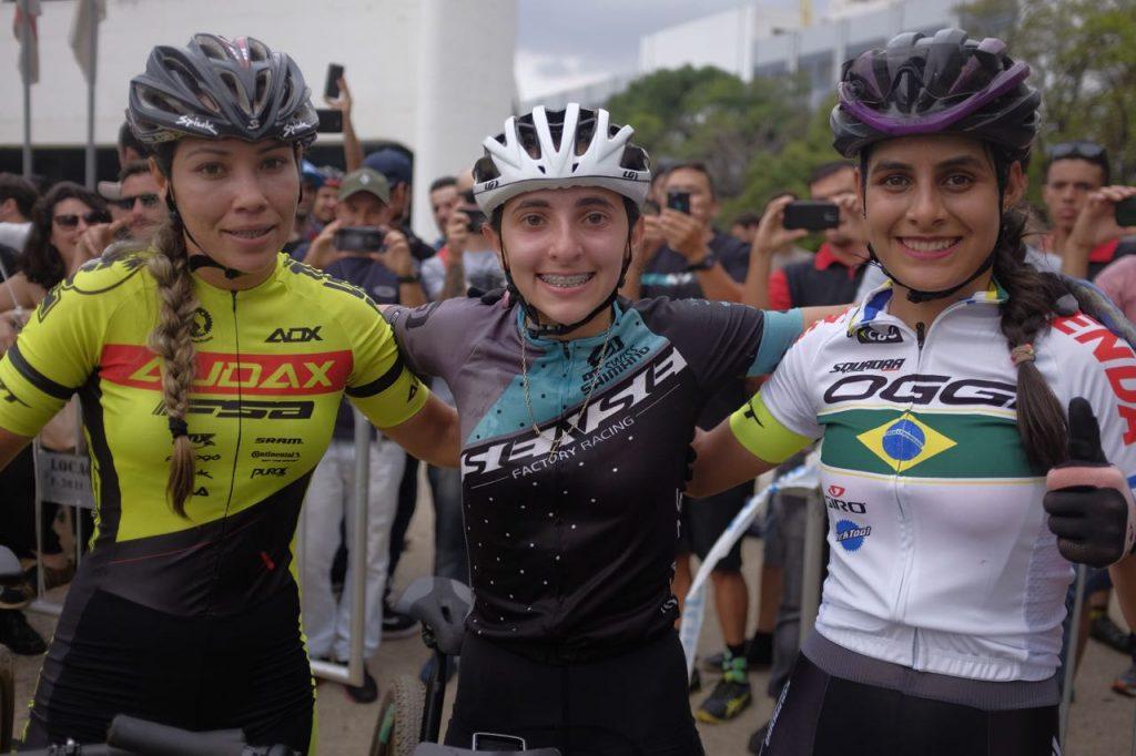 Letícia Cândido, Giu Giu Morgen e Karen Olimpio (Fernando Siqueira - FS Fotografia)