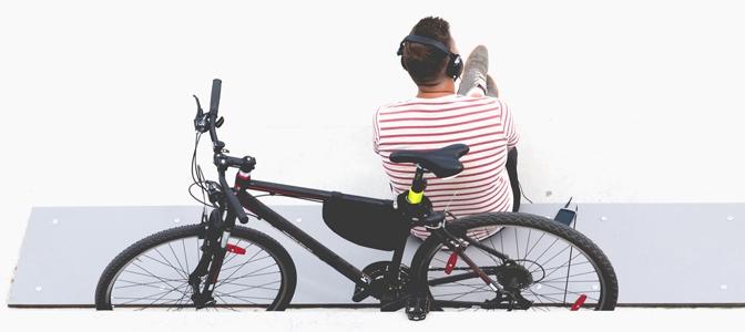 O que você não deve fazer após pedalar