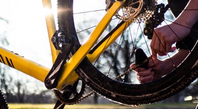 Mantenha a manutenção da bike em dia