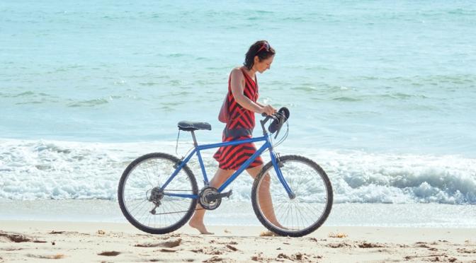 Proteja-se do sol durante o pedal
